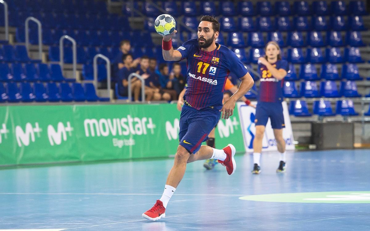 Valero Rivera arriba als 200 partits de Lliga Asobal