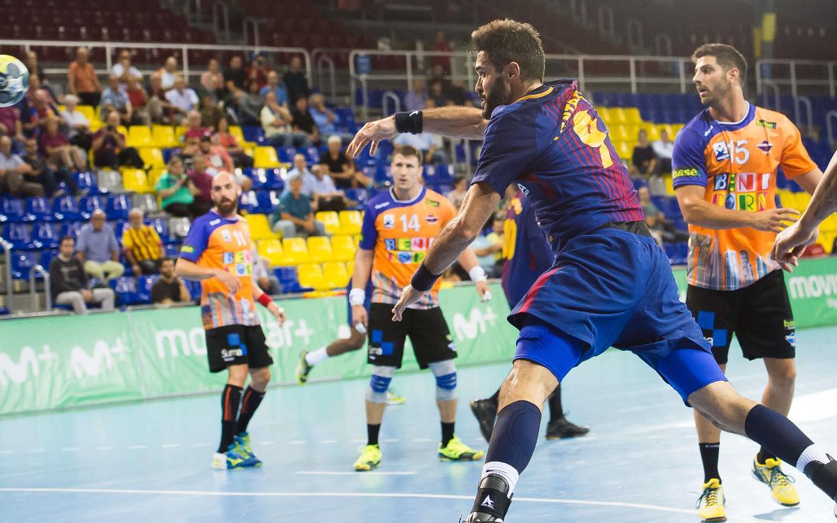 FC Barcelona Lassa – BM Benidorm: Ritmo demoledor en la Asobal (34-19)