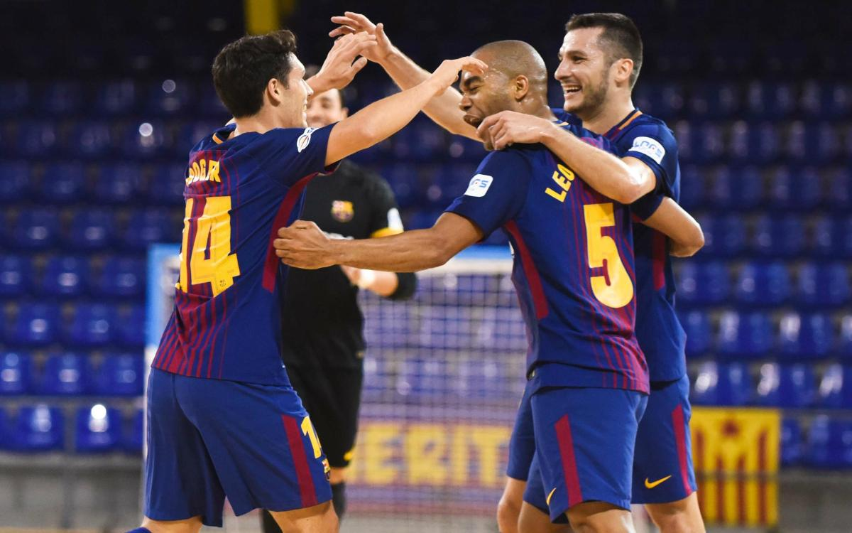 FC Barcelona Lassa – Cartagena FS: Hard work and sweat (6-1)