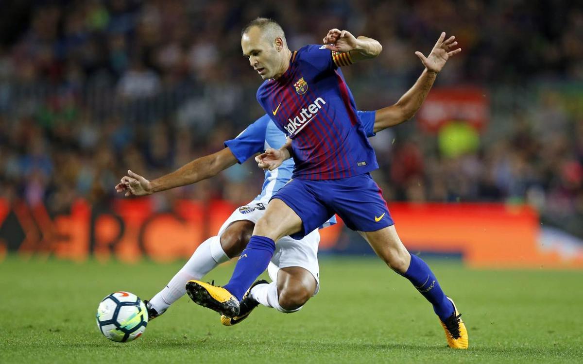 Iniesta es retroba amb el gol