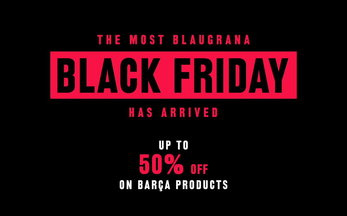 Bargains galore for Black Friday at the Camp Nou
