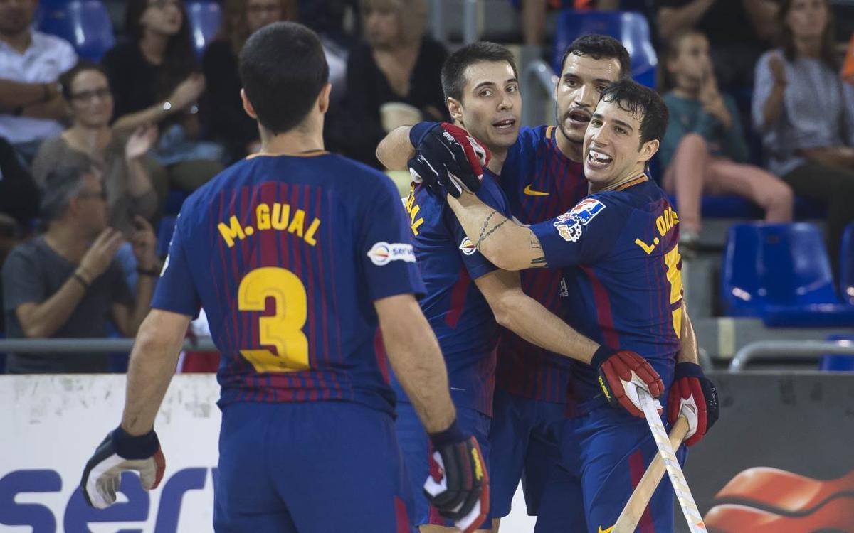 FC Barcelona Lassa - Arenys de Munt: Victòria construïda des de la defensa que permet un 12 de 12 (2-0)