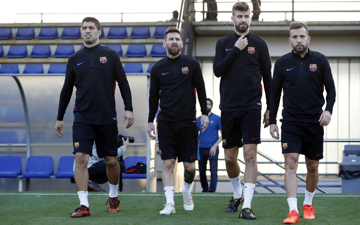 Squad announced for trip to Bilbao, Alba in but injured Iniesta out