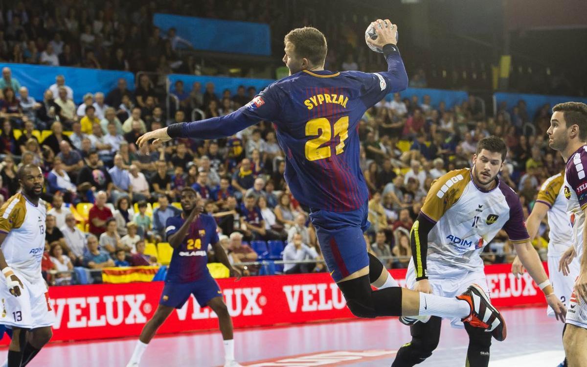 FC Barcelona Lassa - HBC Nantes: Remontada para seguir sumando (31-25)