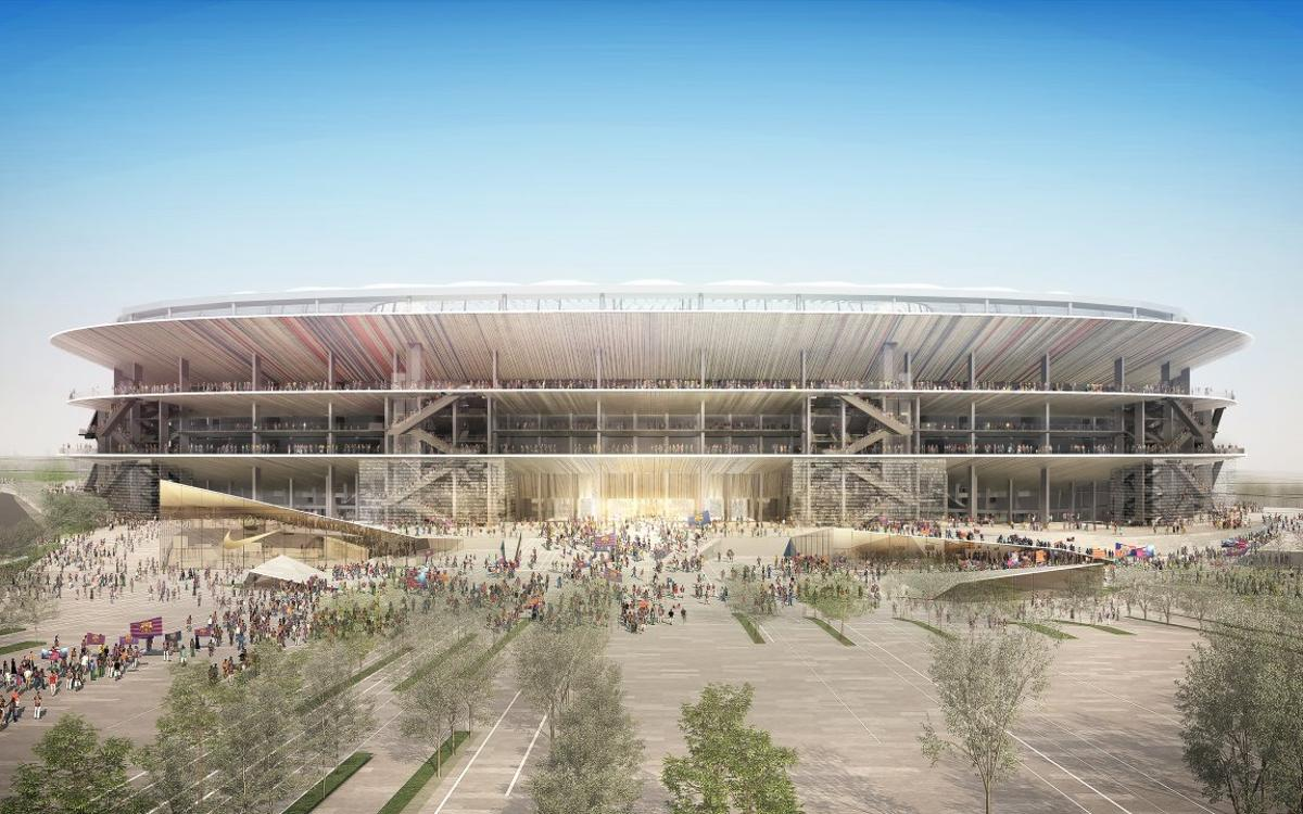 Barça opens pre-registration for New Camp Nou construction work tender