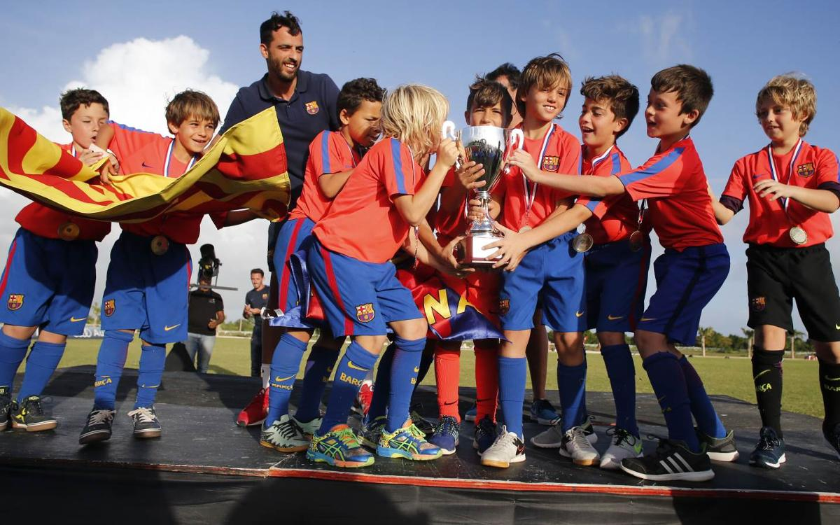 Gran èxit organizatiu del Torneig Internacional Las Américas FCBEscola 2016