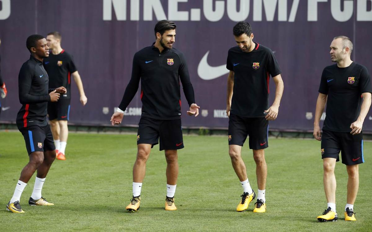 Recuperando efectivos pensando en el Atlético de Madrid