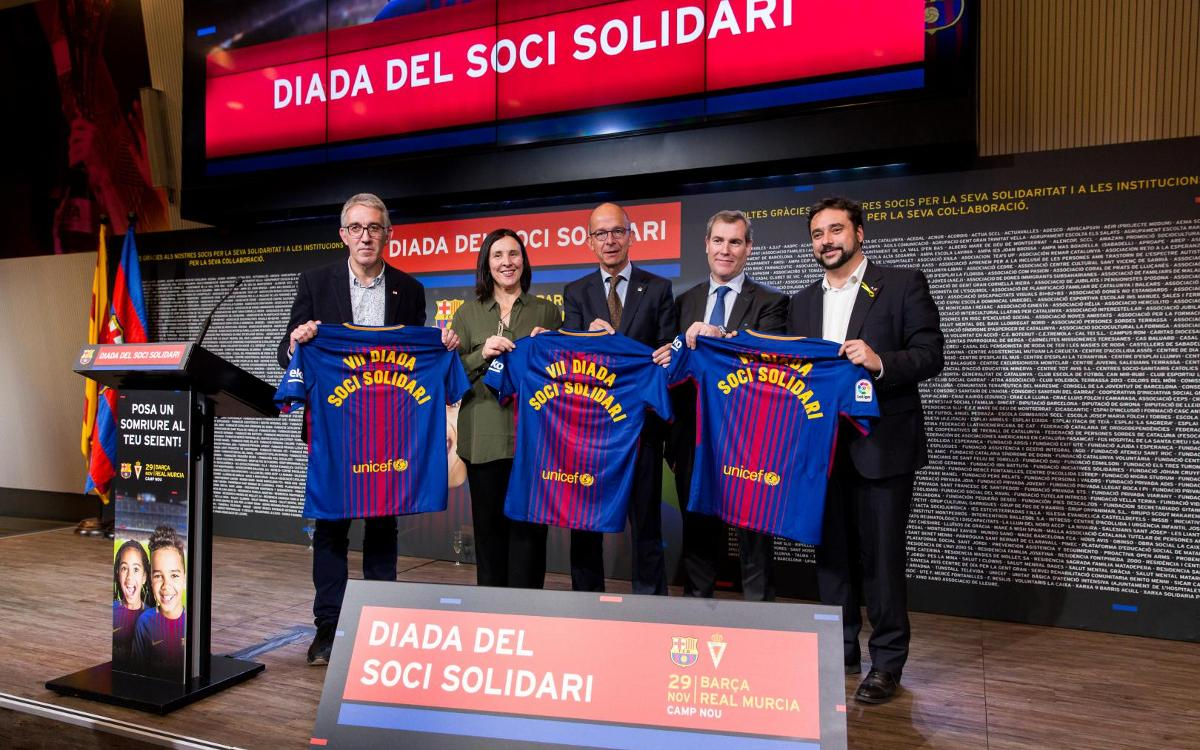Le Camp Nou accueille la journée du socio solidaire