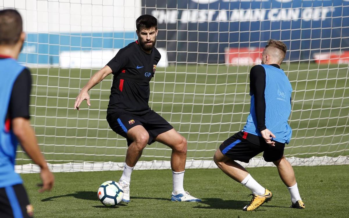Training schedule for the visits of Olympiacos and Málaga