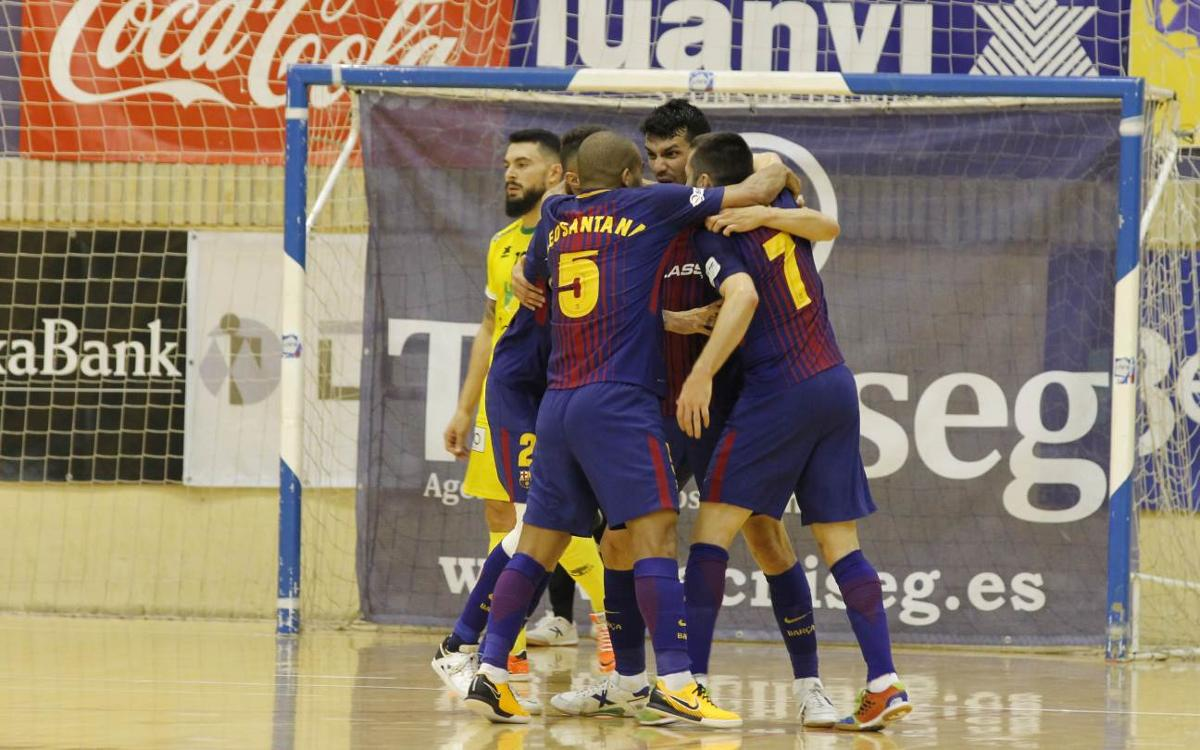 Jaén – FC Barcelona Lassa: Impressive win away from home (1-4)