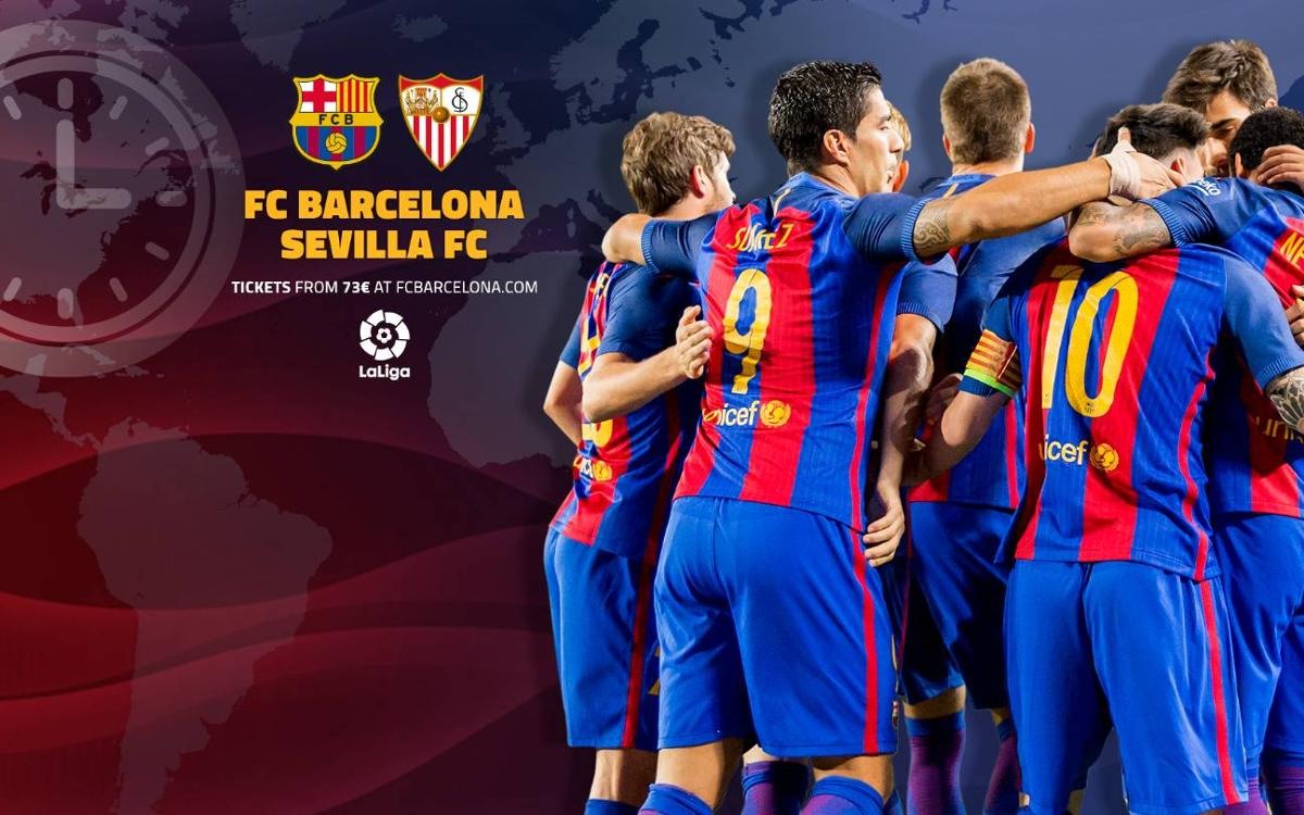 When and where to watch FC Barcelona v Sevilla in LaLiga