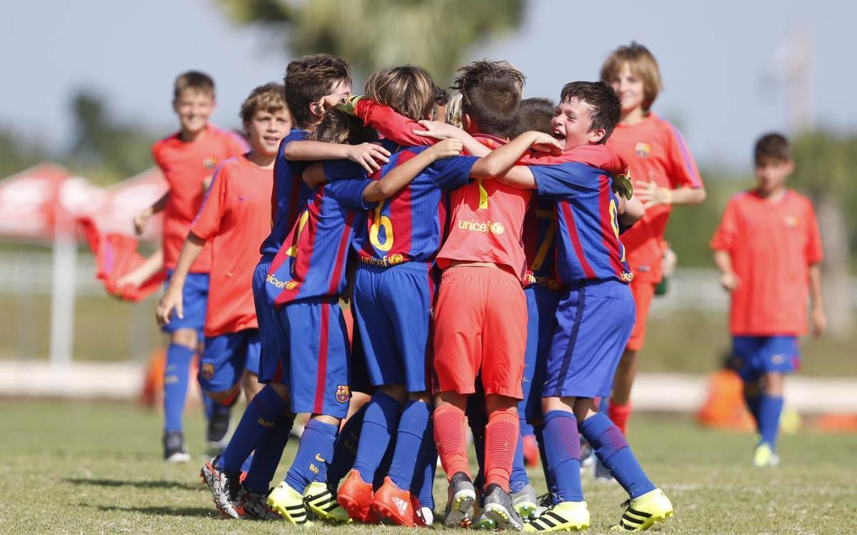 FCBEscola Barcelona, campeona de Preformación en el Torneo Las Américas