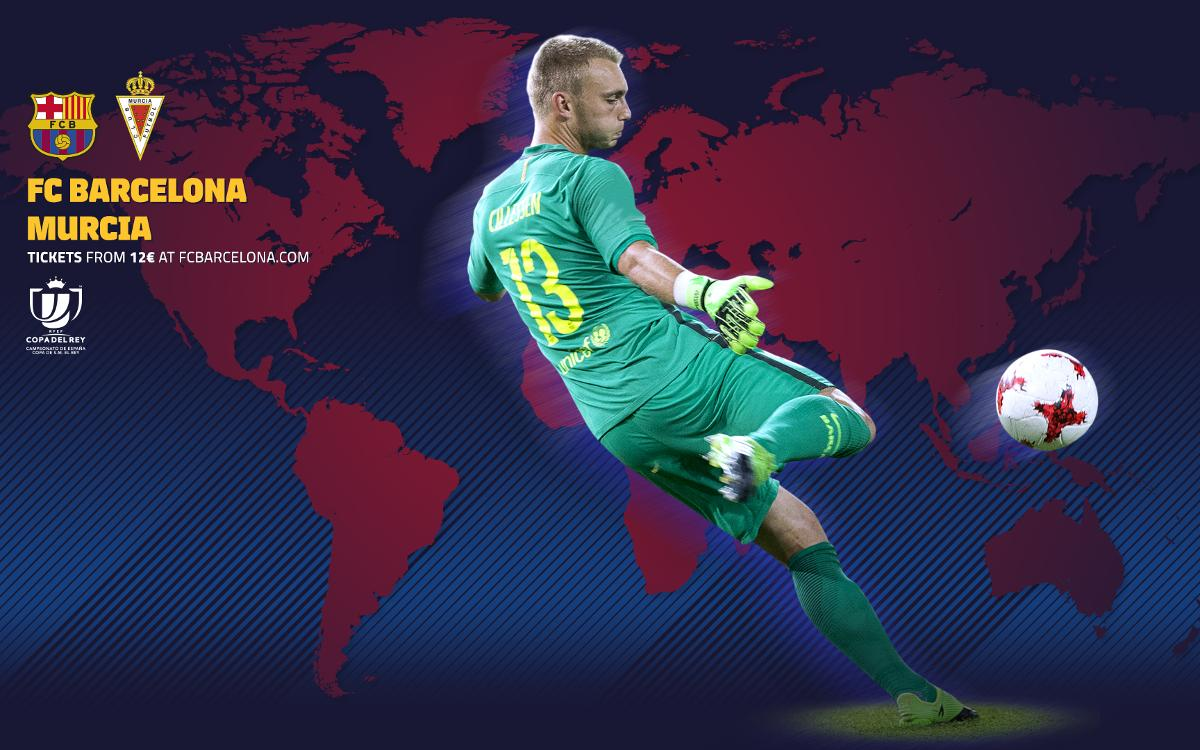 When and where to watch FC Barcelona v Murcia