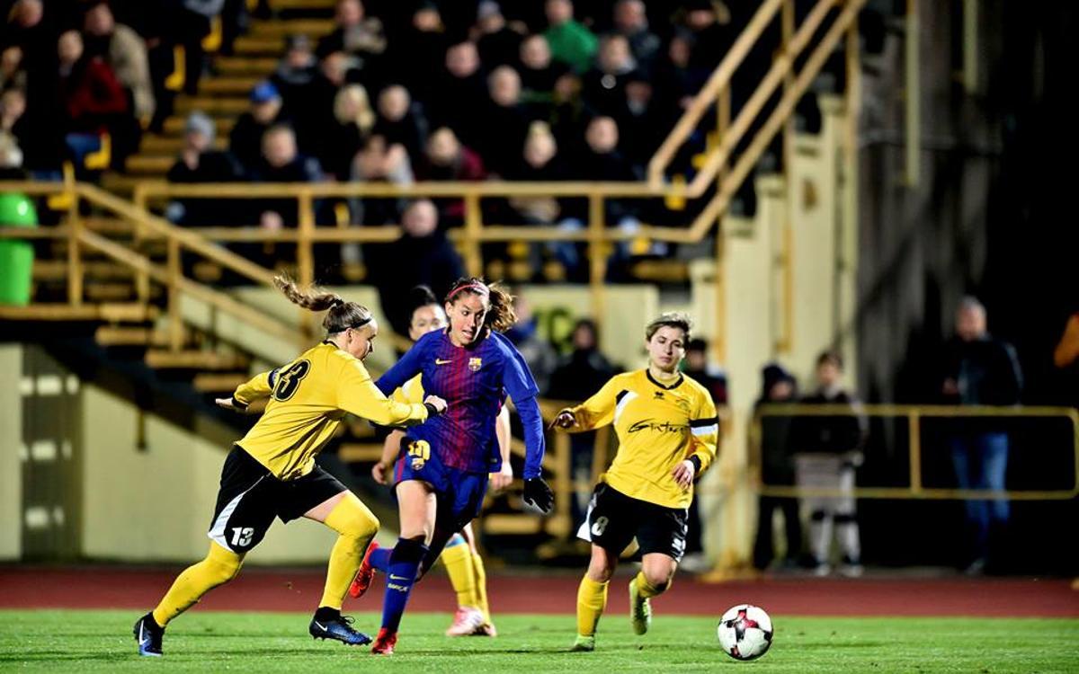 FK Gintra Universitetas – Barça Women: A historic win to remain unbeaten (0-6)