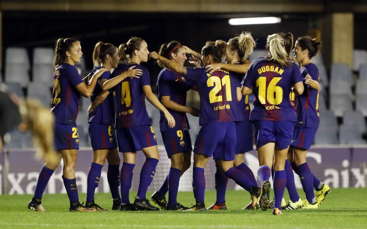 FC Barcelona Women – Avaldsnes IL: Into the last 16 (2-0)