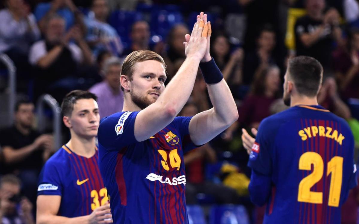 FC Barcelona Lassa – Rhein-Neckar Löwen: Espectáculo en el Palau con una visita de altura