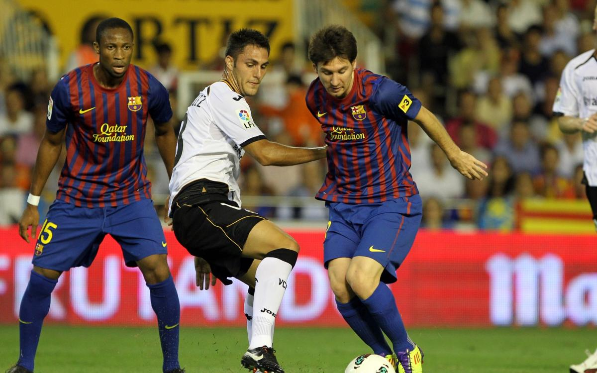 Six years since last top-of-the-table clash at Mestalla