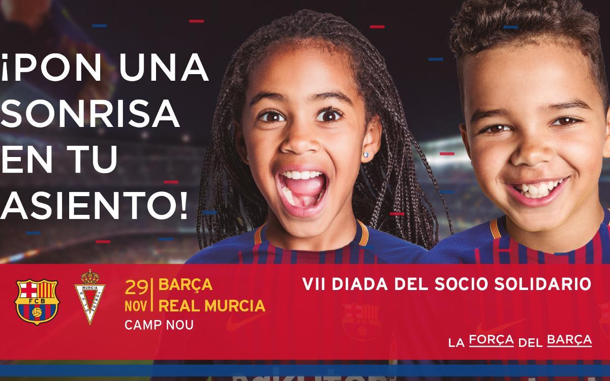 Séptima edición de la Diada del Socio Solidario en el Camp Nou