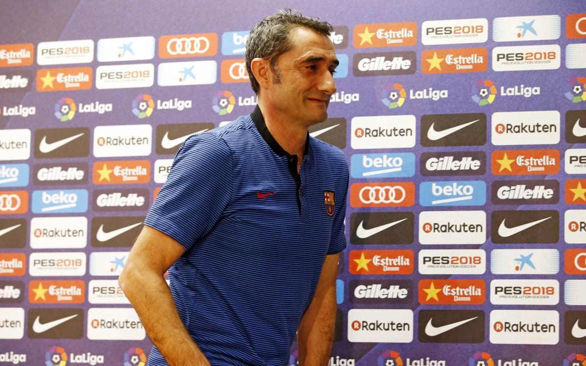 """Ernesto Valverde: """"Serà un partit difícil quant a domini del joc"""""""