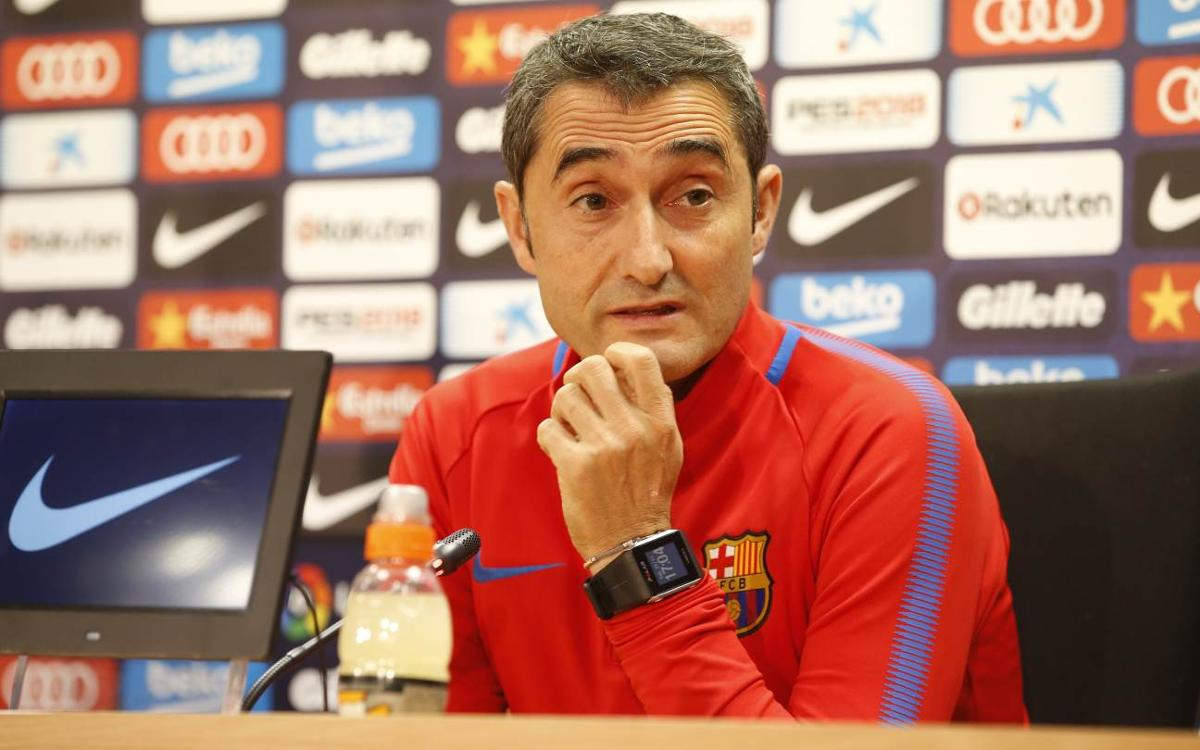 Valverde delighted with Messi news as he looks ahead at Valencia test