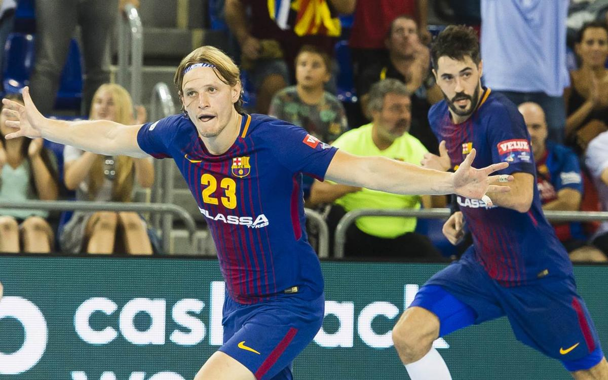 FC Barcelona Lassa – IFK Kristianstad: Caràcter per sumar una soferta victòria (31-29)
