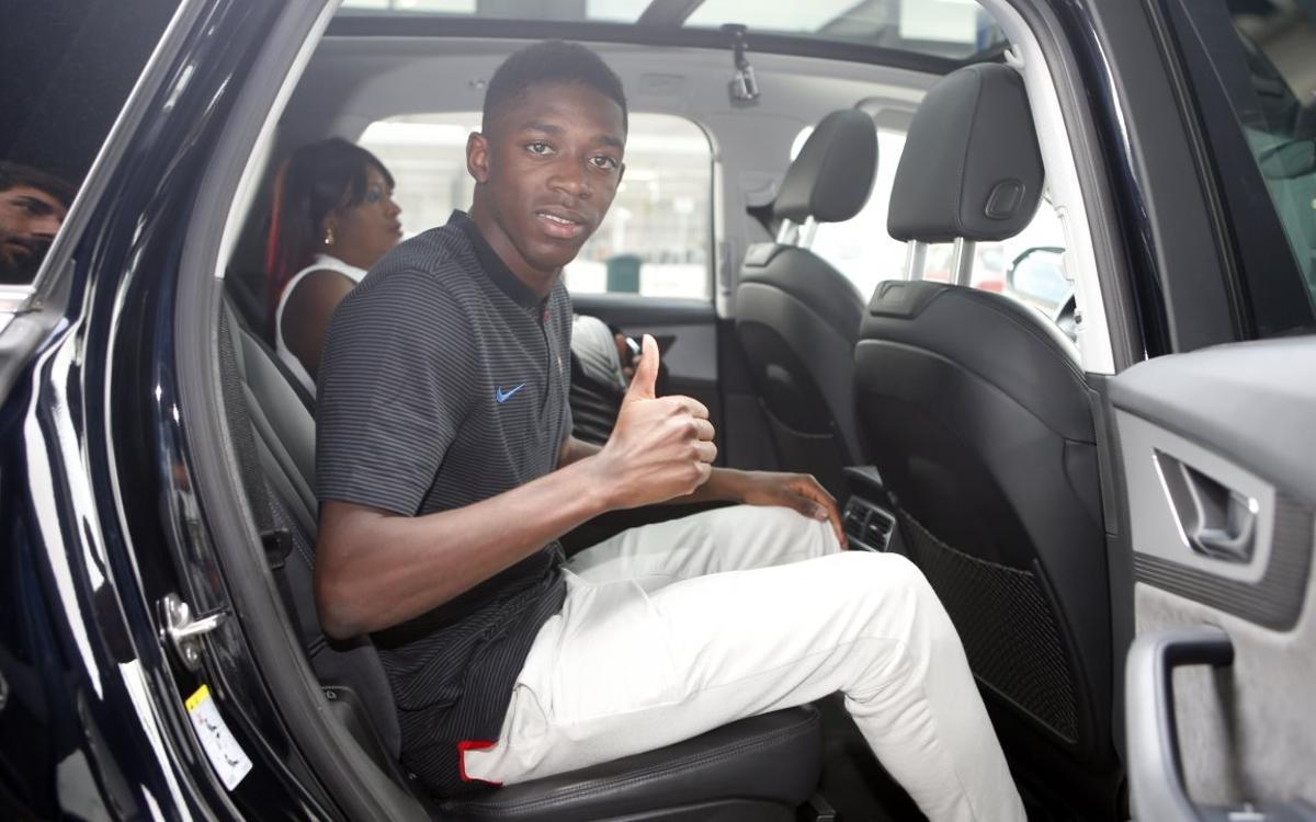In the car with…Ousmane Dembélé
