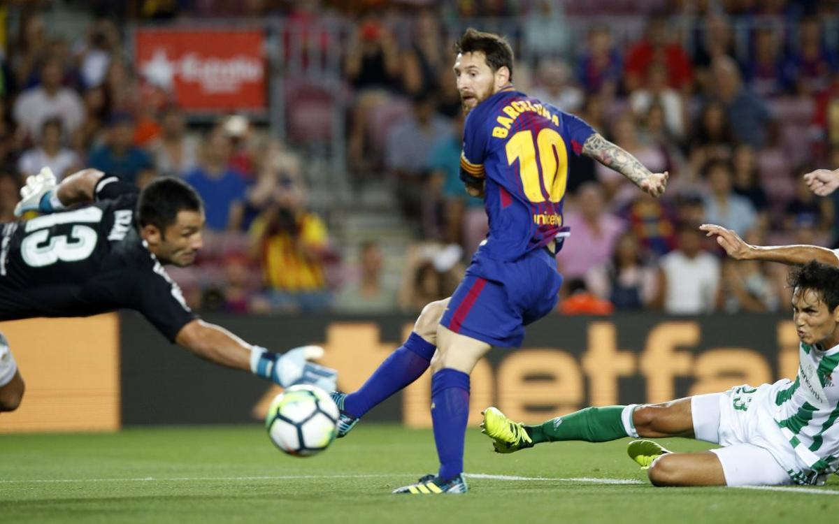Barça are the woodwork kings in La Liga
