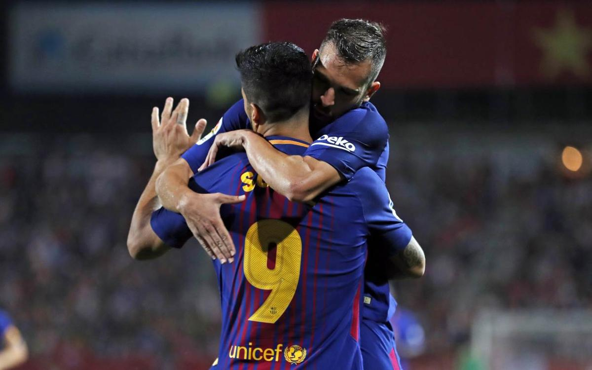 El resum de l'històric triomf del FC Barcelona a Montilivi