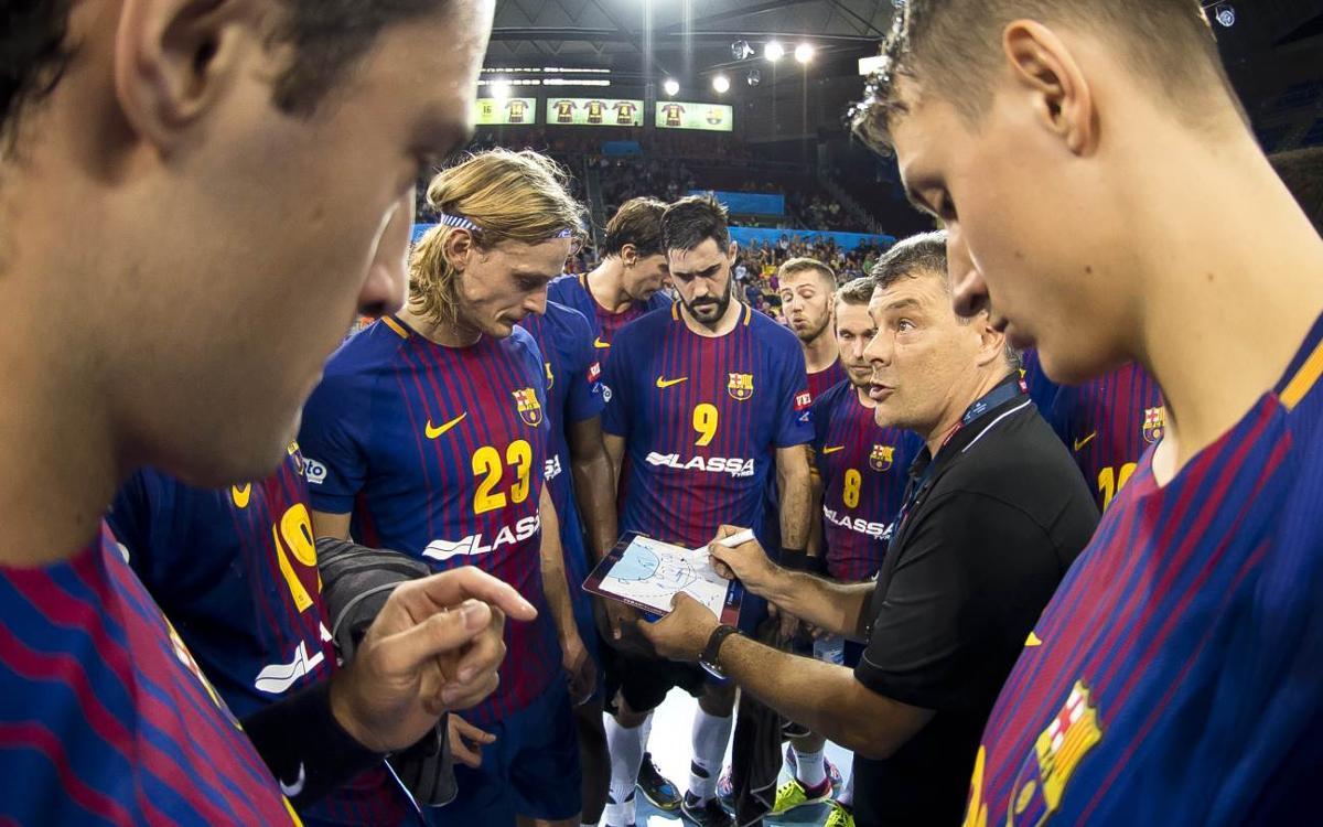 "Xavi Pascual: ""Ens enfrontem a un tros d'equip"""
