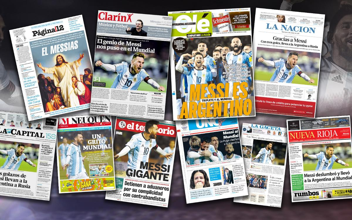 Argentina hails Messi heroics