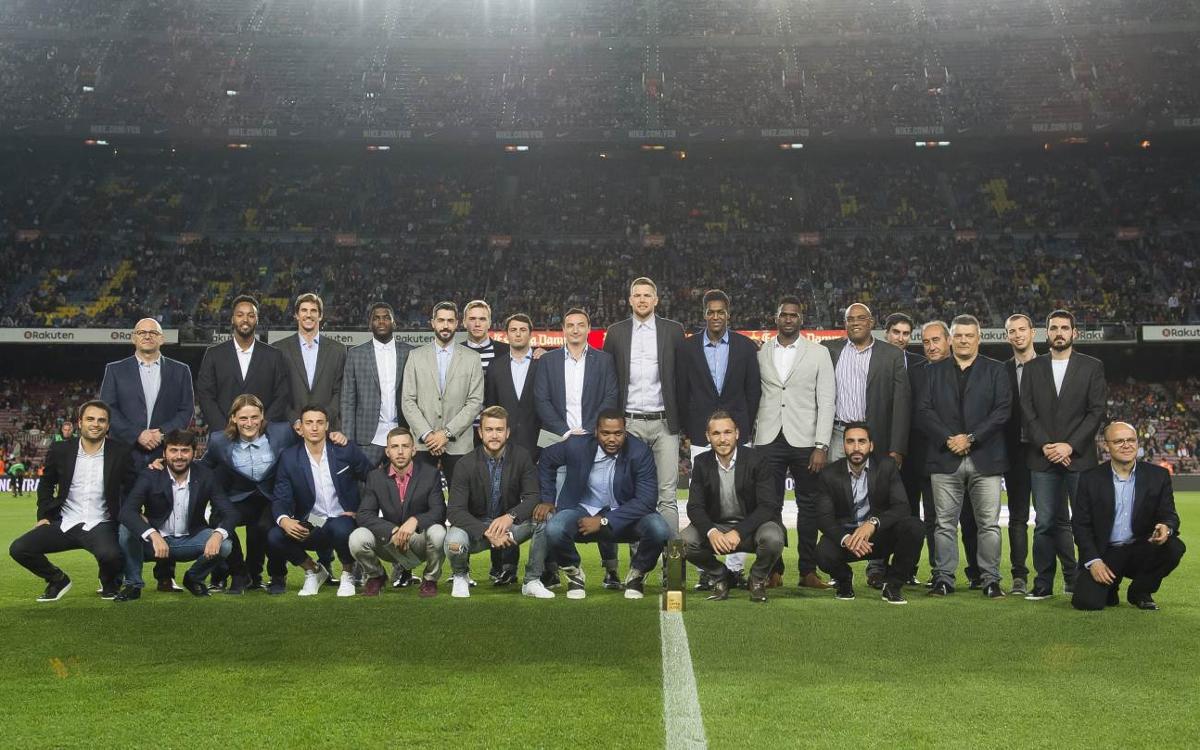 Reconeixement del Camp Nou per la Super Globe