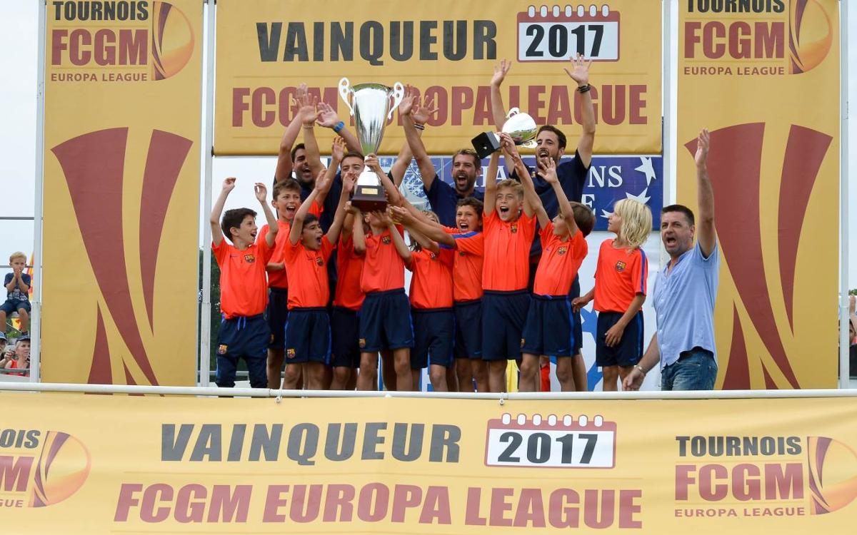 L'FCBEscola Barcelona, campiona de l'Europa League al torneig FGCM