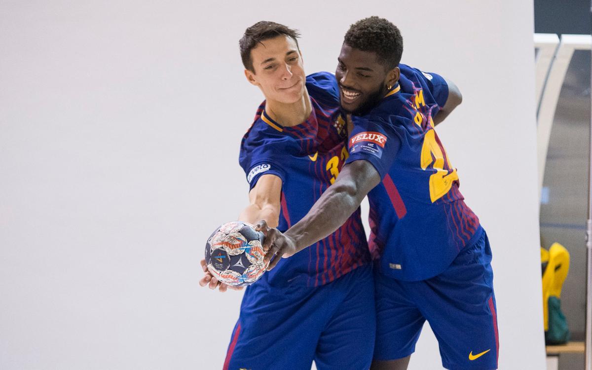 Así se ha hecho la sesión de fotos del Barça Lassa