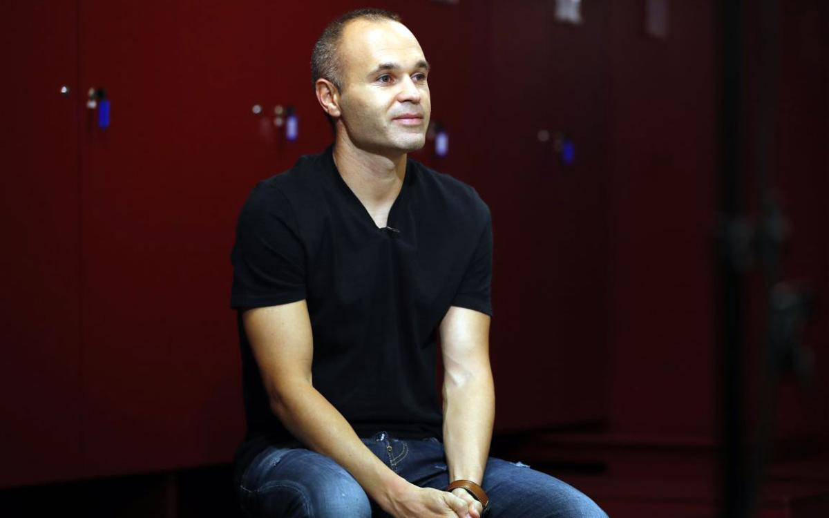 Video interview: Andrés Iniesta talks then and now at FC Barcelona