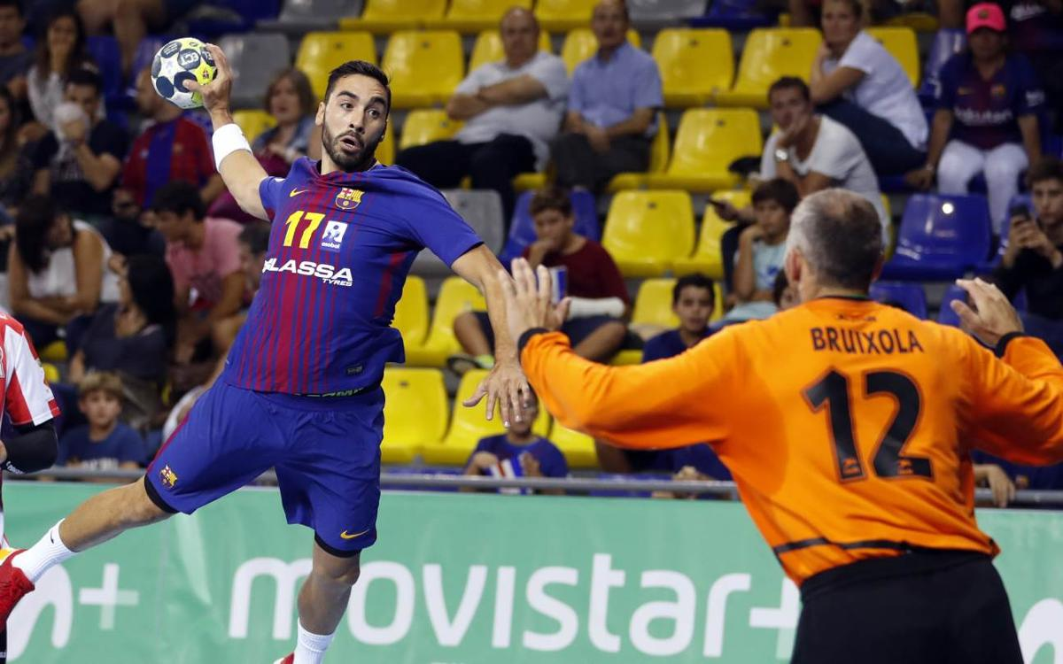 FC Barcelona Lassa – Fertiberia Port Sagunt: Winning start (34-18)