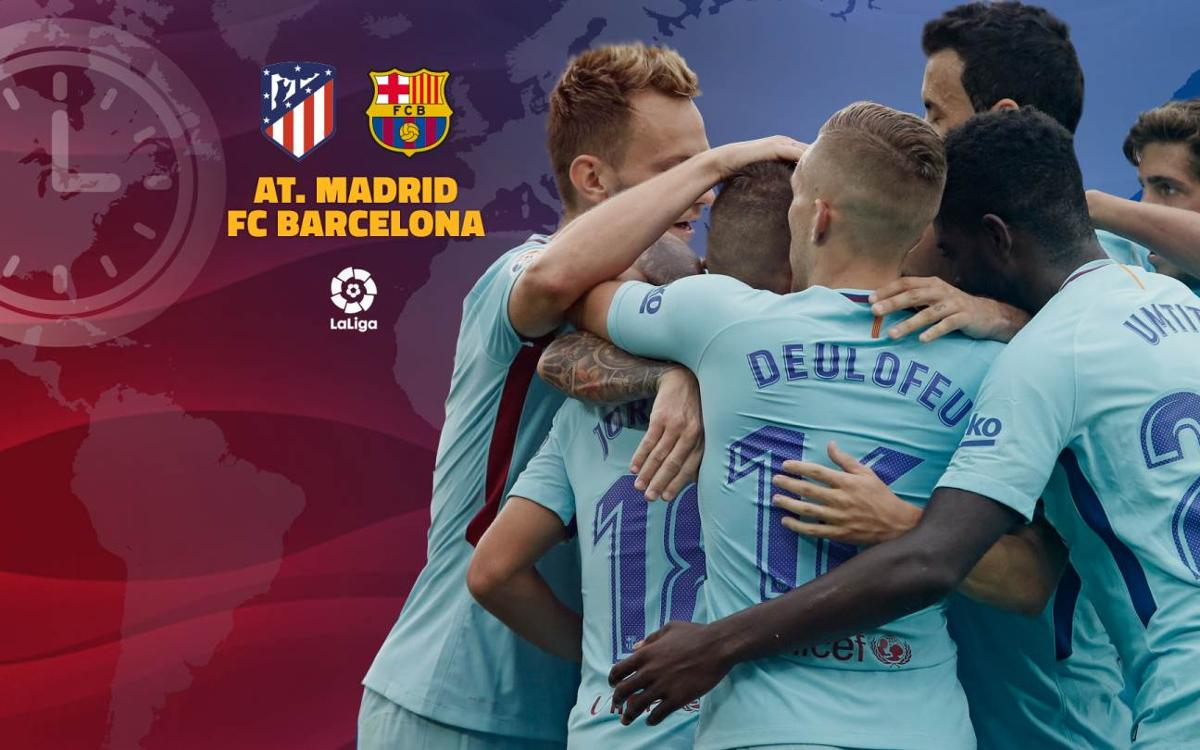 Quan i on es pot veure l'Atlètic de Madrid – FC Barcelona