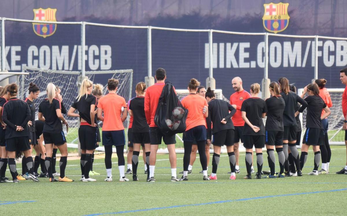 Así será la pretemporada del Barça Femenino