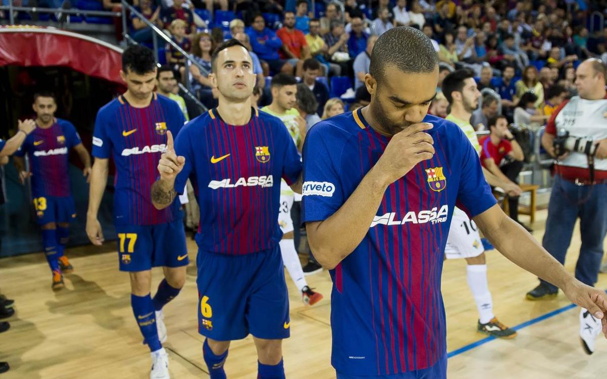 Marató de 7 partits en 3 setmanes per al Barça Lassa