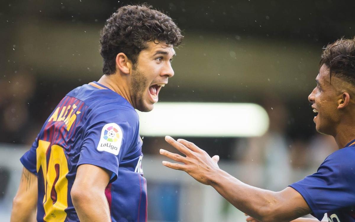 AD Alcorcón – Barça B: Els primers a fer-ho
