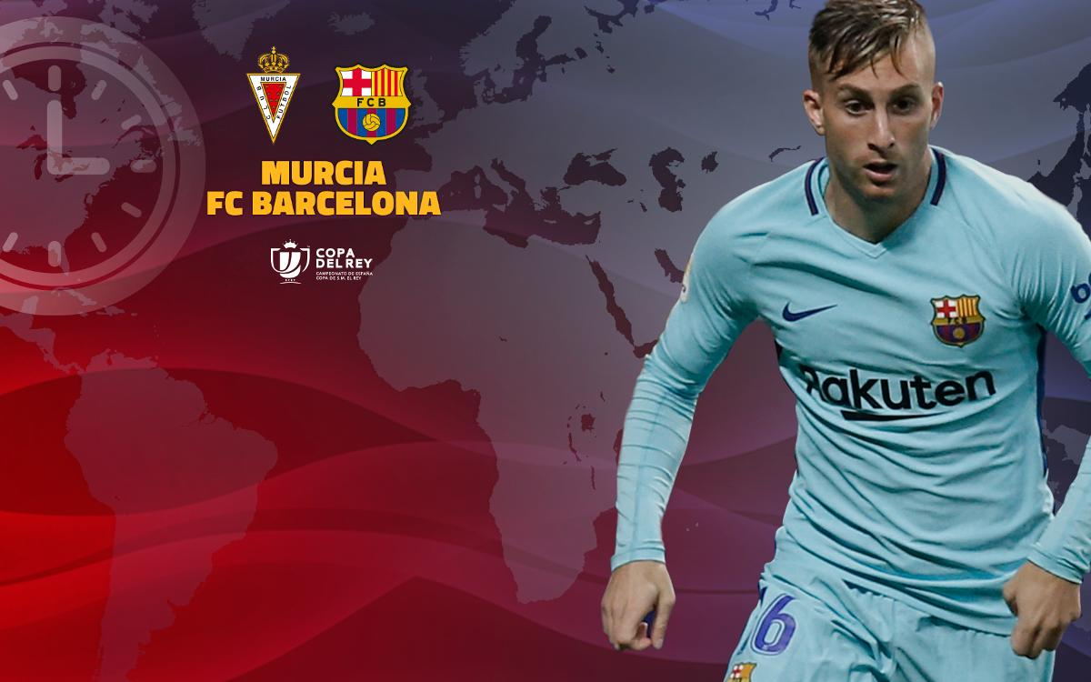 When and where to watch Murcia vs FC Barcelona