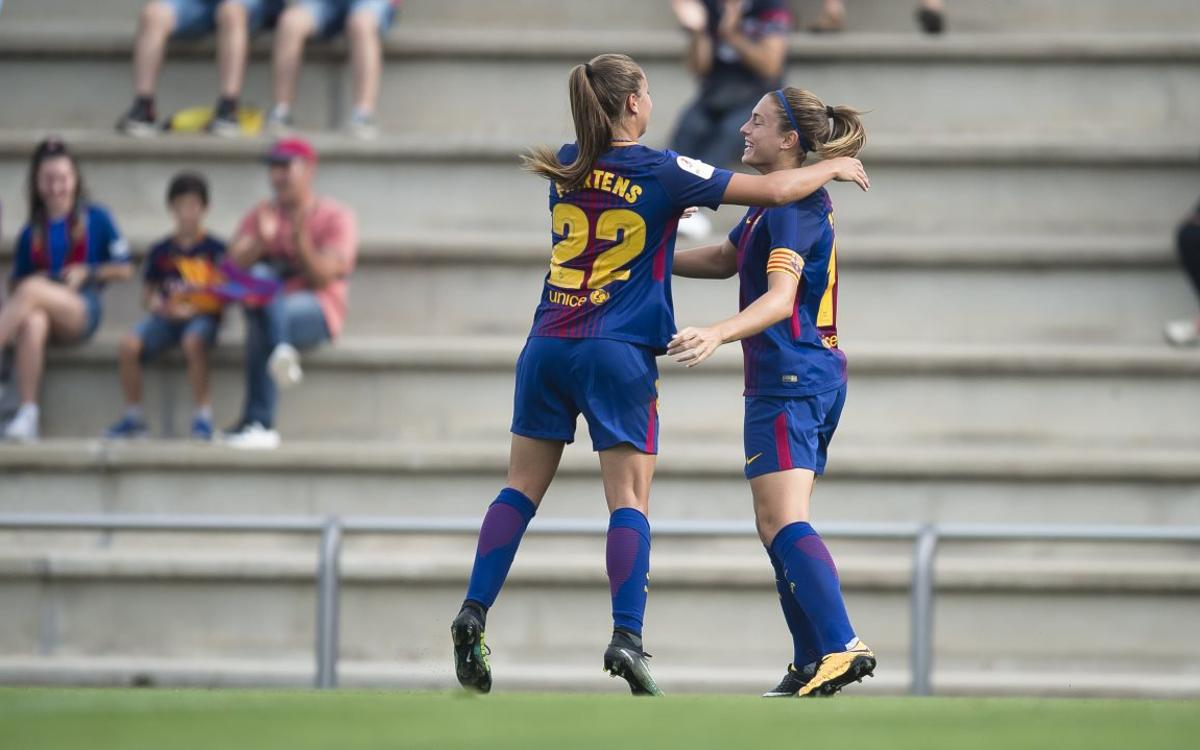 Avaldsnes-Barça Femení: Champions League exhibition (0-4)