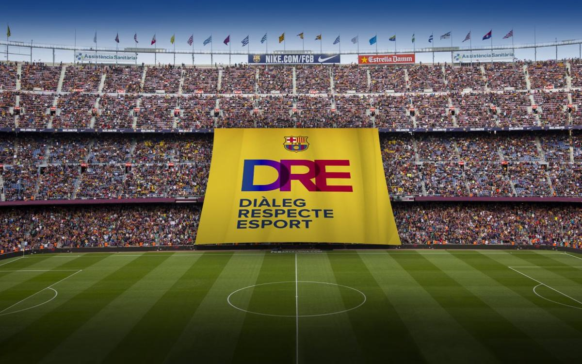 Barça to unfurl giant banner reading 'Dialogue, respect, and sport' before Olympiacos match