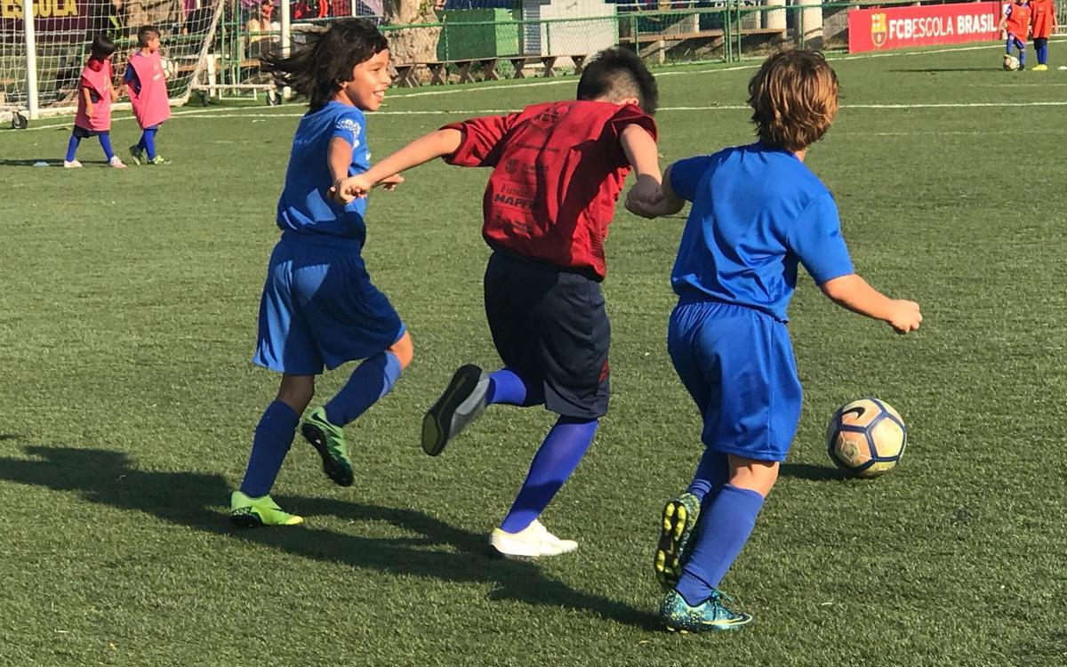 La Fundació FC Barcelona i l'FCBEscola Rio de Janeiro organitzen la primera jornada 'FutbolNet'