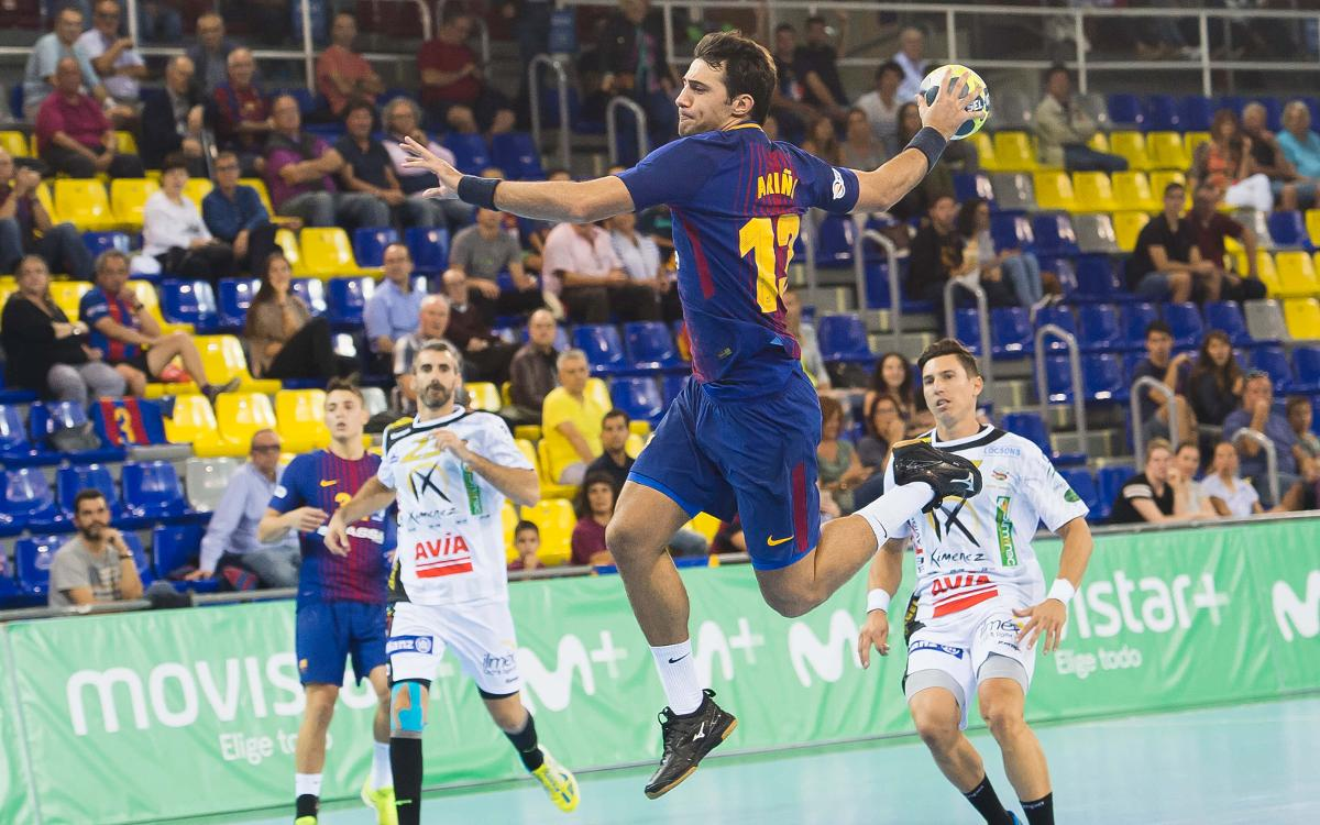 FC Barcelona Lassa – Ángel-Ximénez Avia Puente Genil: Counterattack is the best weapon at the Palau (36-24)