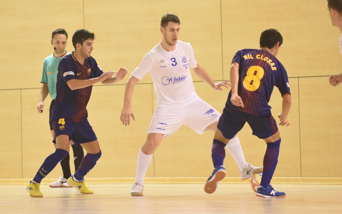 Barça Lassa B 3–4 Manzanares FS: Final cruel
