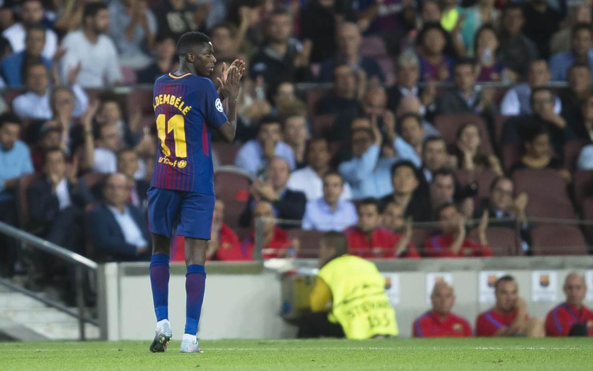 Dembélé, one of three finalists for the Golden Boy 2017