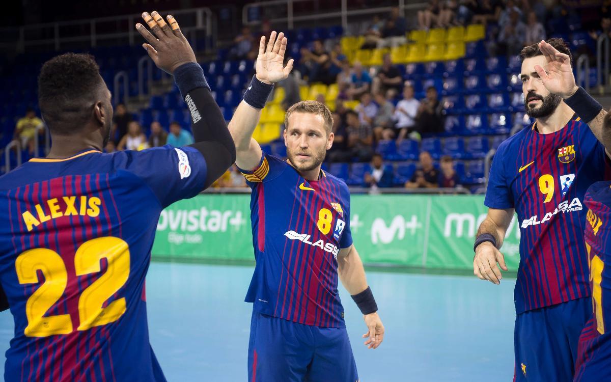 FC Barcelona Lassa – BM Benidorm: La Liga vuelve a abrir las puertas del Palau