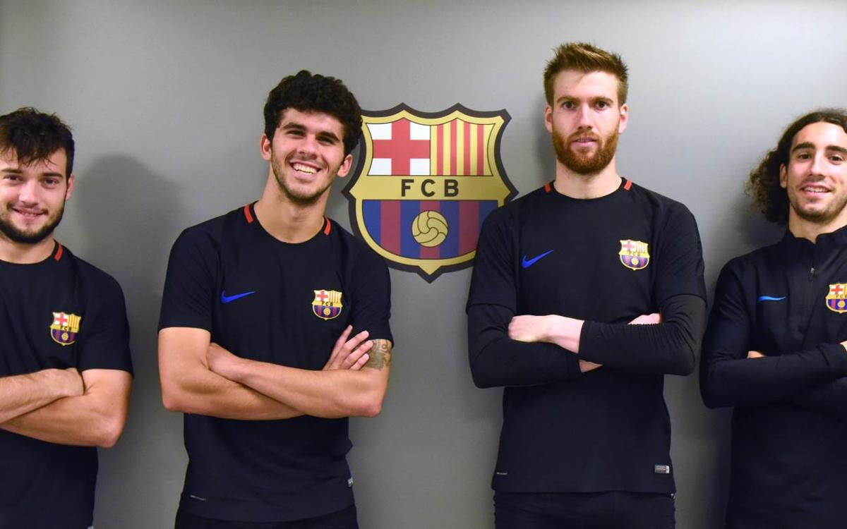 Four Barça B players in squad for Murcia