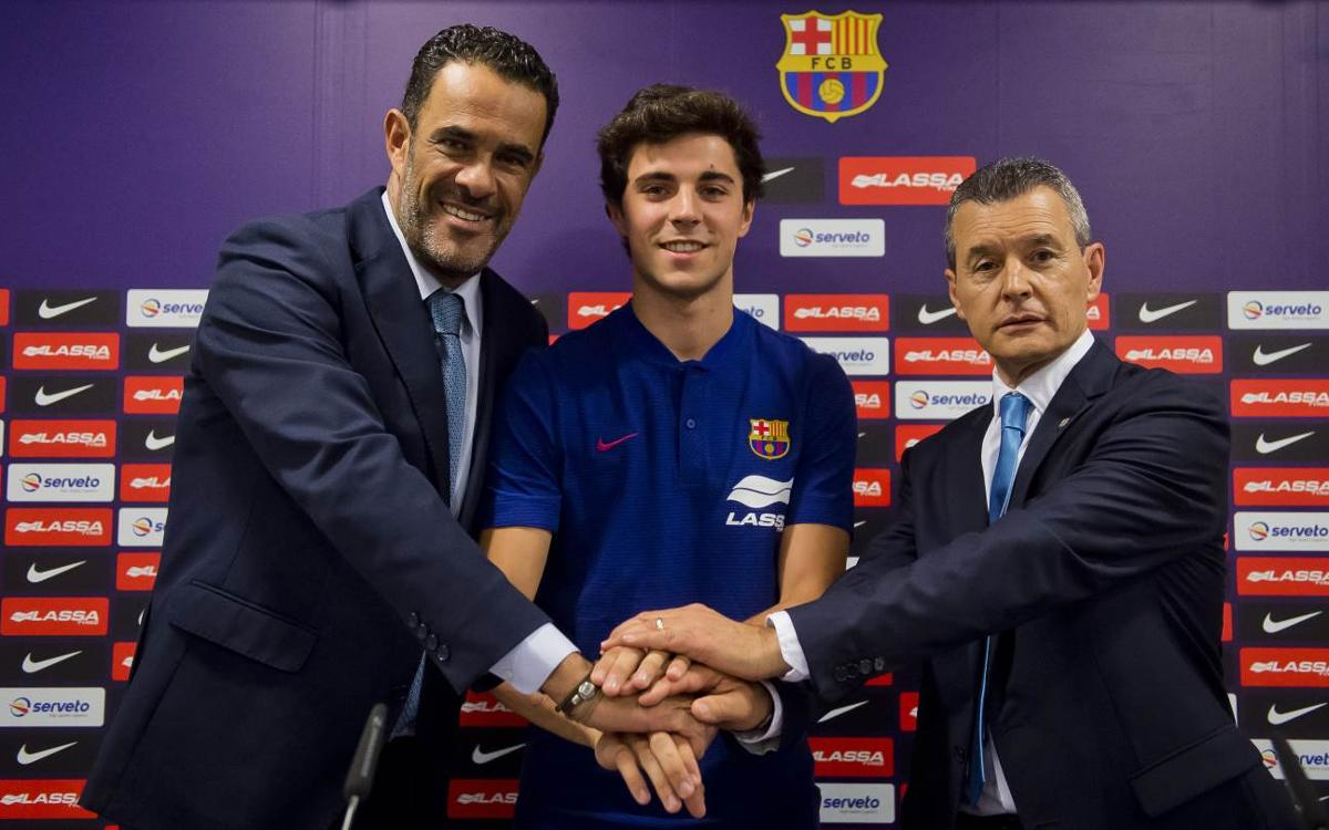 """Ignacio Alabart: """"He aconseguit l'objectiu que tot nen somia: arribar al millor club del món"""""""