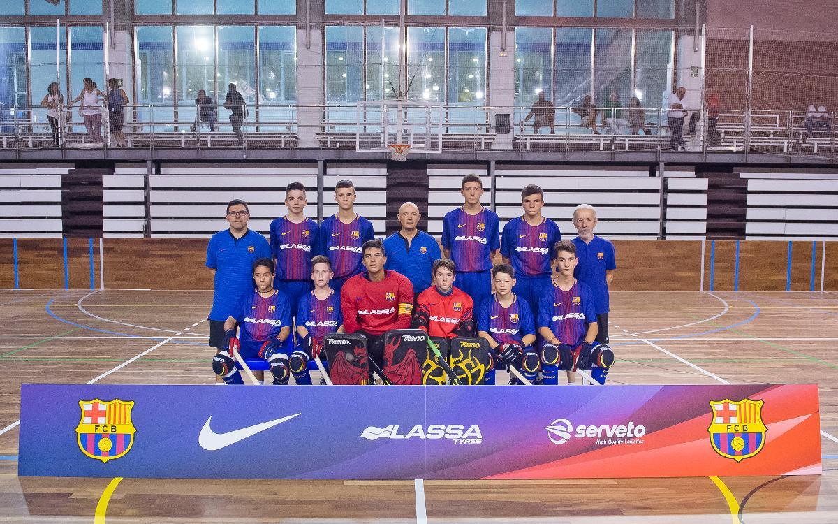 Todo listo para el Eurockey Cup U15